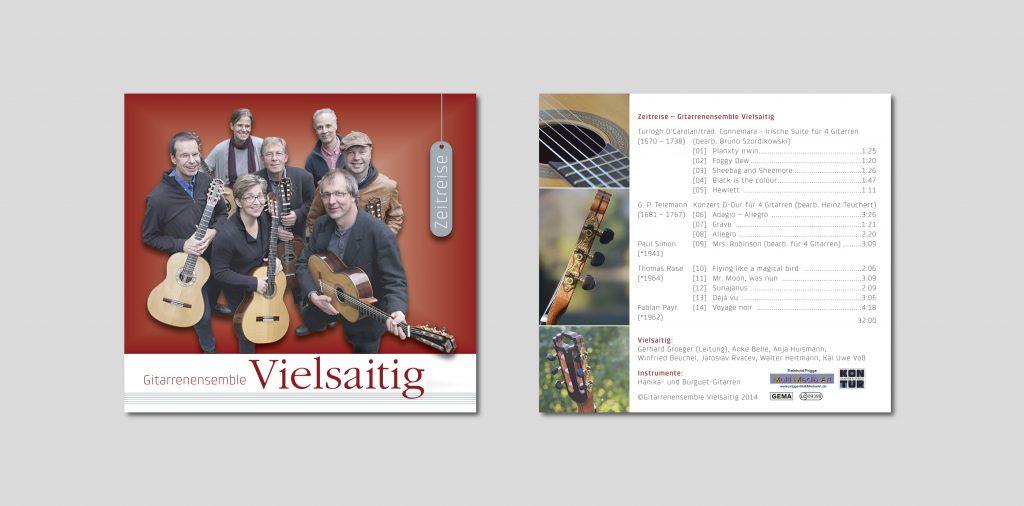 CD Cover Vielsaitig